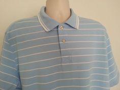 Men's Converse Polo Shirt Short Sleeve 2XL Multi-color Striped Cotton Henley EUC #Converse #Henley #ebay #Converse #Henley