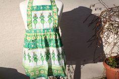 Schürzen - Süße Kinder Schürze + Topflappen Frosch grün   - ein Designerstück von trixies-zauberhafte-Welten bei DaWanda