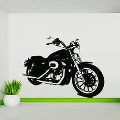 Wall Decal Decor Decals Art Sticker Motorcycle Moto Biker Speed Bike (M434) DecorWallDecals http://www.amazon.com/dp/B00FZEIVHA/ref=cm_sw_r_pi_dp_o-XZub0YAXA7P
