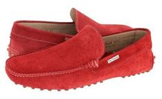 red loafers mens summer shoes