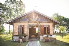Igreja  - Casamento no Campo