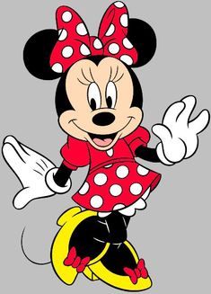 Minnie Mouse is a funny animal cartoon character created by Ub Iwerks and Walt Disney. She and Mickey Mouse were first drawn by Iwerks in Played by: Russi Taylor, Marjorie Ralston Mickey Minnie Mouse, Mini Y Mickey, Mickey Mouse Imagenes, Minnie Mouse Clipart, Disney Clipart, Walt Disney, Mimi Disney, Retro Disney, Disney Mickey