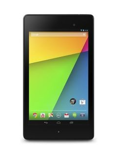 "Google Nexus 7 Tablet (7-Inch, 16GB, Black) by ASUS (2013) (886227534906) World's sharpest 7"" tablet screen (323 ppi) Powerful battery, up to 9 hrs of active use Quad-core speed and performance, 2GB RAM Powered by Android 4.3, the latest version of the world's most popular mobile OS"