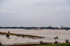 Nieuwe hoogwatergolf op grote rivieren