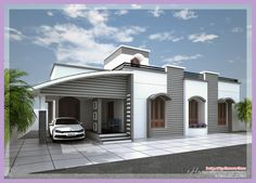Awesome MODERN HOUSE DESIGNS ONE FLOOR
