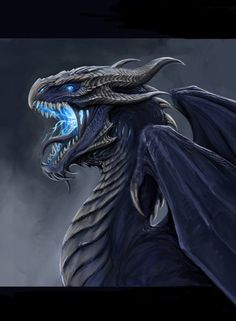 Storm Dragon by TatianaMakeeva.deviantart.com on @DeviantArt