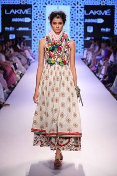 Glimpse of an amazing collection Vrisa by Rahul and Shikha at Lakme Fashion Week Summer Resort'15! #JabongLFW