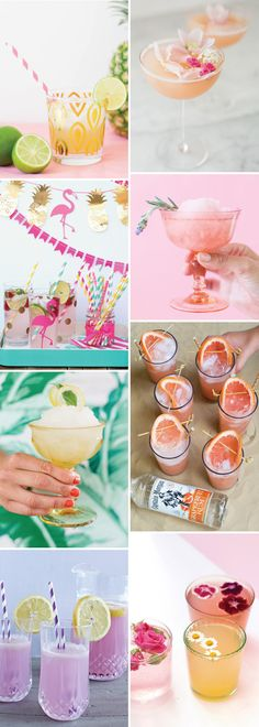 Summer Cocktail Coolers and Boozy Popsicles | see them all on www.onefabday.com