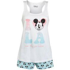 Disney Mickey Mouse La Shorts Pyjamas (47.290 IDR) ❤ liked on Polyvore featuring intimates, sleepwear, pajamas, pijamas, sleep, shorts, disney pjs, mickey mouse pajamas, cotton pajamas and mickey mouse sleepwear
