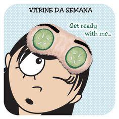 Cookie Plushie: Vitrine da semana - Get ready with me...