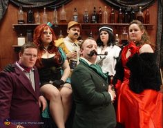CLUE Characters - Halloween Costume Contest via @costumeworks