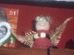 mini flower pot angel