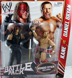 Kane-WWE Zombies Series 3 Mattel Jouet Wrestling action Figure RARE