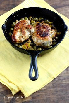 Chicken with Olives and Oranges