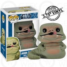 Boneco Jabba the Hutt - Star Wars - Funko Pop! #geekwish