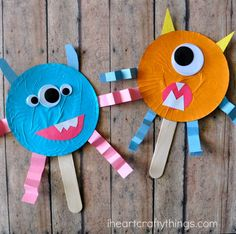 We can't get enough of monster crafts or puppets lately so we decided to combine them both into these fun cupcake liner monster stick puppets. They make a great Halloween craft for kids and since they are super simple to make, they are fabulous for kids of all ages. Try coupling them with a fun …