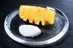 Vanilla Roasted Pineapple with Coconut Whipped Cream Recipe - Chocolate & Zucchini