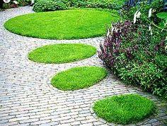 Ideas for Garden Garden Paths, Garden Landscaping, Beautiful Gardens, Beautiful Flowers, Paved Patio, Outdoor Ideas, Outdoor Decor, Winding Road, Dream Garden