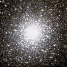 Hubble Space Telescope view of globular cluster M2