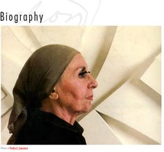 Louise Nevelson, I was drawn to her at a very young age. So inspiring!