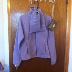 Purple Columbia bundle Hat & jacket  such a cute hat! Youth 18/20 xl Columbia Jackets & Coats