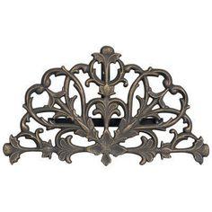 Whitehall Aluminum Filigree Garden Hose Holder Oil Rub Bronze - 00453