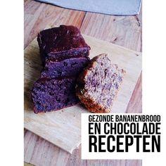 Gezonde zoete chocolade recepten van Rhodé