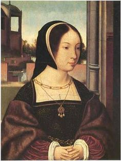 Portrait of a Lady, presumed to be Anne of Brittany, c. 1520 by Jan Mostaert