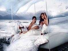 Eva Mendes - Reklama Campari www.alkohall.cz