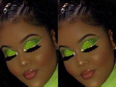 Glitter Force, Red Glitter, Glitter Shoes, Sparkles Glitter, Green Eyeshadow Look, Glitter Eyeshadow, Eyeshadow Looks, Eyeshadow Makeup, Glitter Makeup Tutorial