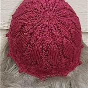 Lace and Bobble Beanie - via @Craftsy