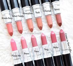 Mac lipstick colors