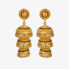 Gold Jewelry For Baby Boy Product 18k Gold Jewelry, Gold Jewellery Design, Sterling Silver Necklaces, Bridal Jewelry, Cartier Jewelry, Jewlery, Jhumka Designs, Gold Earrings Designs, Jewelry Stores Near Me