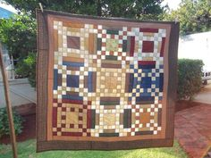 Made a Vintage Quilt;  Tiki Brophy My Quilt Room
