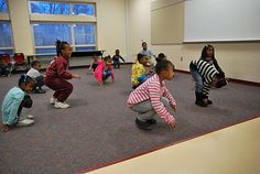Incorporating movement + dance for young children. Creating games for self regulation + management.