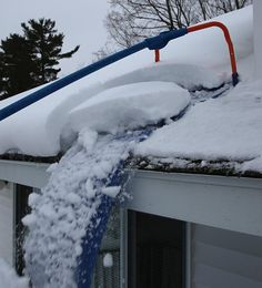 Roof Snow Removal System .