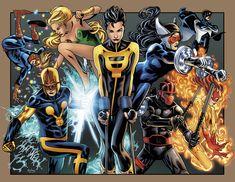 Marvel e Freeform produrranno la serie tv Marvel's New Warriors Young Avengers, New Avengers, Marvel Art, Marvel Heroes, Gi Joe, Comic Books Art, Comic Art, Detective, New Warriors