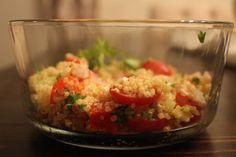 Quinoa Greek Salad from Healthy Bites Houston www.healthybiteshouston.com
