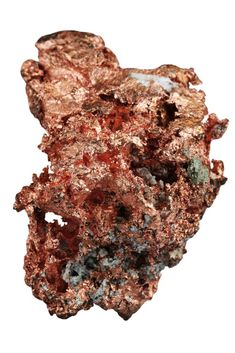 Copper (Cu) is an extremely useful industrial metal that is ductile (capable of being drawn into wire), malleable (capable of being hammered and molded) Museum Plan, Mineral Stone, Unusual Things, Industrial Metal, Minerals, Copper, Stones, Gems, Learning Resources