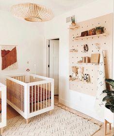 #interior #interiordesignideas #nursery #nurserydecor #bohome #bohemian #bohostyle #kids #kidsroom #plants #houseplants Nursery Modern, Boho Nursery, Nursery Room, Girl Nursery, Girl Room, Nursery Decor, Nursery Ideas, Room Decor, Rustic Nursery