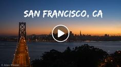 Beautiful Sunset behind San Francisco: Timelapse The Best Photos of San Francisco including the Golden Gate Bridge, Fisherman's Wharf, the Cable Cars and other popular San Francisco sites and attractions.