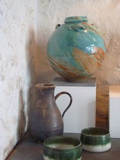 We had passed this pottery before on our way down into Cornwall but never had time to stop, this time we did stop and I asked if I could ta...