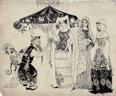Weird and Wonderful: Fairy Tale Illustrations