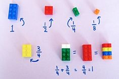 Using Lego to teach math. Have you ever used toys to teach math? How?