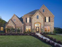 Perry Homes - Bella Vista Model Home Design 3398W - in San Antonio ...