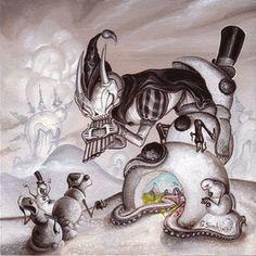 Tall Tales, Tell Tales Frog Art, Rabbit Art, Wine Art, Pop Surrealism, Whimsical Art, Fantasy Characters, Fantasy Art, Graffiti, Sculptures