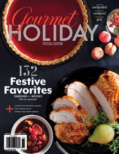 On Newsstands Now: Gourmet Holiday Special Edition...I SO MISS Gourmet Magazine...will be hunting this down!
