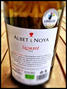 El Alma del Vino.: Albet i Noya Lignum! Blanc 2013.