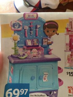 this is lilys big christmas present she loves doc mcstuffins