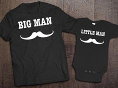 Dad And Baby Matching Shirts Daddy Son by CleverFoxApparel on Etsy